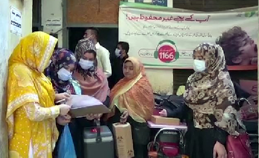 Five-day anti-polio campaign continues for second day across country