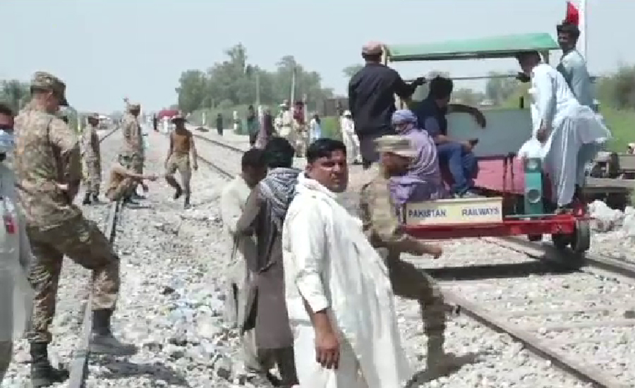 Relief and rescue operation completed at train accident site in Dharaki: ISPR