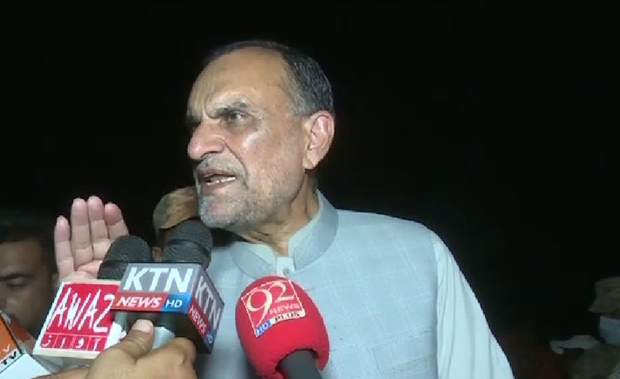 Those responsible for train accident will be made an example: Azam Swati