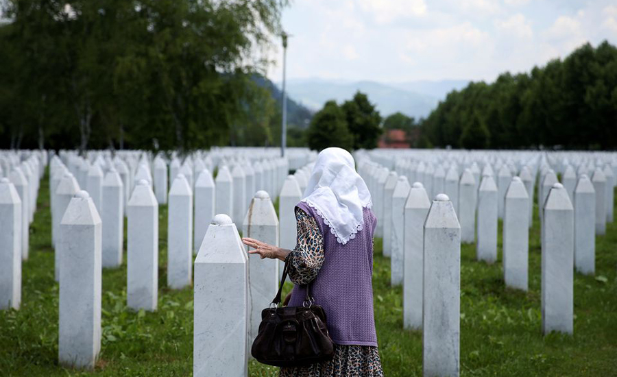Srebrenica massacre: UN war crimes court upholds Ratko Mladic's life sentence