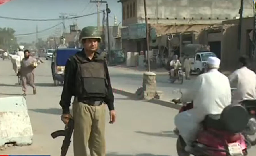Two cops returning from anti-polio campaign martyred in Mardan