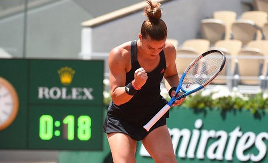French Open 2021: Sakkari downs Swiatek to secure semifinals berth