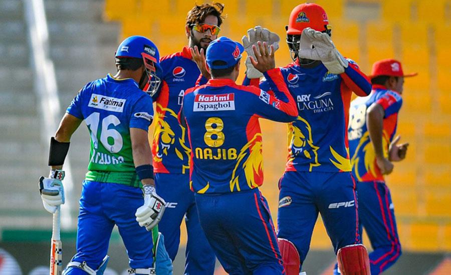PSL 6: Multan Sultans set 177-run target for Karachi Kings