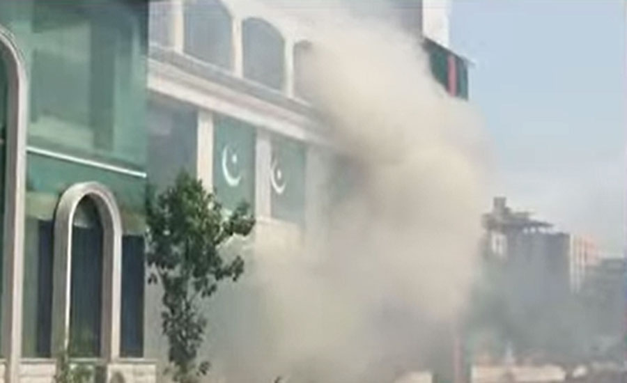 Fire erupts at Bilawal House media cell
