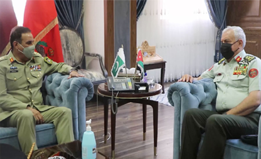 CJCSC Nadeem Raza, Jordanian Armed Forces chairman discuss defence cooperation