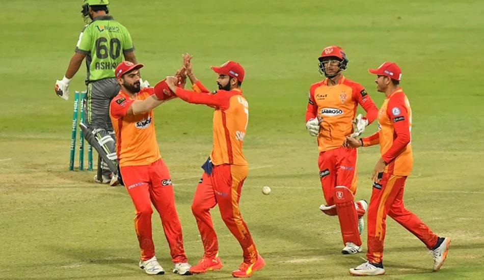 Islamabad United thrash Lahore Qalandars by 28 runs