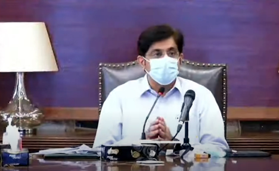 Sindh given less share in Federation, complains CM Murad Ali Shah