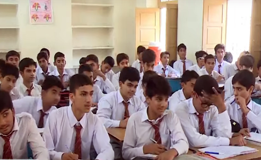 Classes from 6 to 8 resume with 50 percent attendance across Sindh
