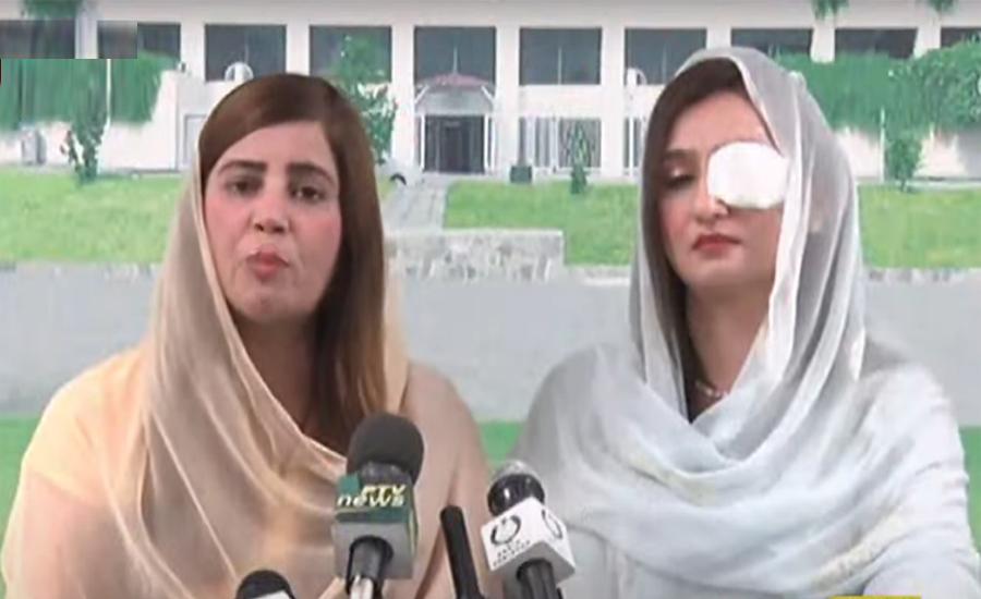 Zartaj Gul asks NA Speaker Asad Qaisar to take notice of attack on women