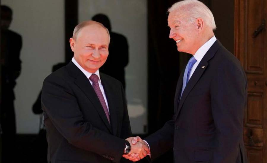Biden and Putin agree to steps on cybersecurity, arms control