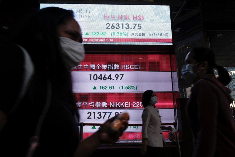 Asian shares up but set for weekly loss after hawkish Federal Reserve