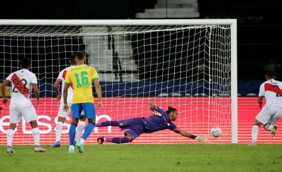 Brazil cruise past Peru with 4-0 Copa America win