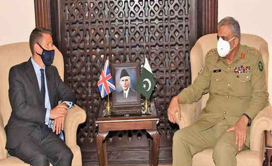 Pakistan values UK's balanced role in global, regional affairs: COAS Bajwa