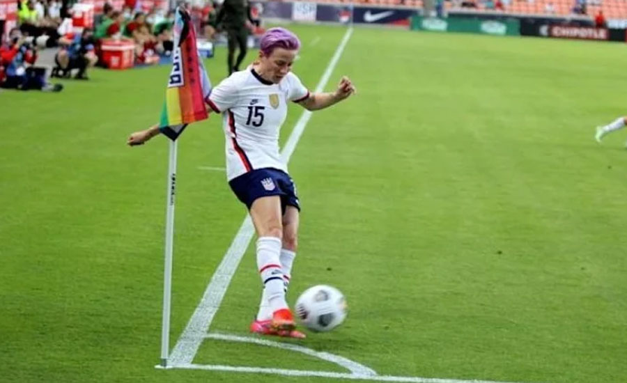 US soccer stars tell story of fight for equal pay in new film 'LFG'