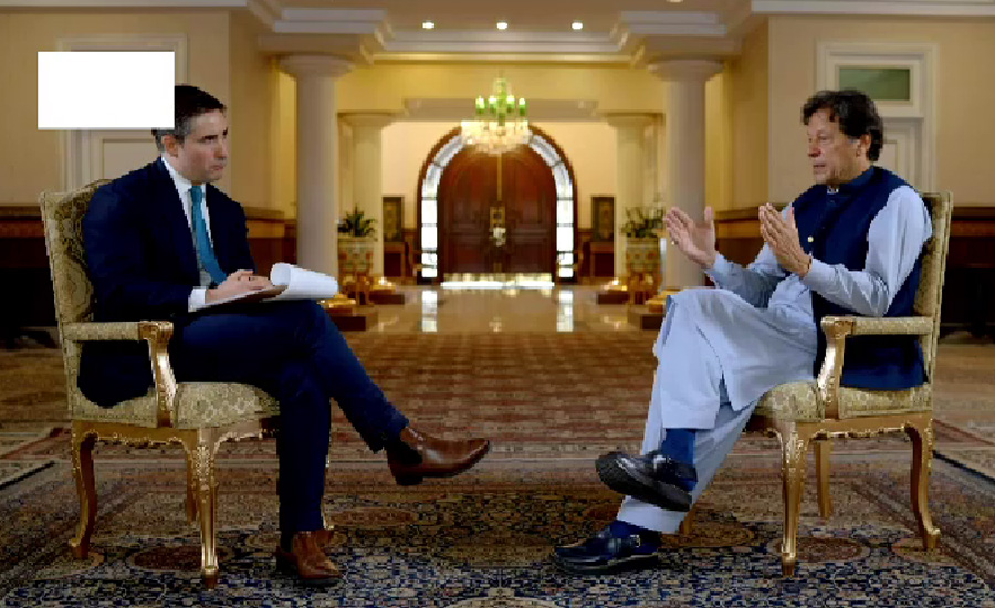 US should resolve issue politically before leaving Afghanistan: PM Imran Khan