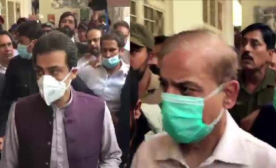 Court stops FIA from arresting Shehbaz Sharif, Hamza until July 10