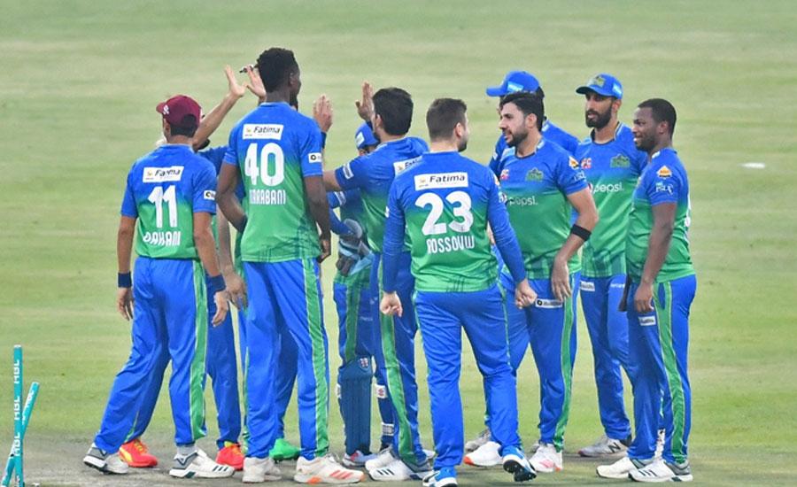 Sohaib, Tanvir lead Sultans to maiden PSL 6 final