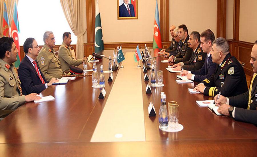 Gen Bajwa, Azerbaijan president discuss Afghan peace process