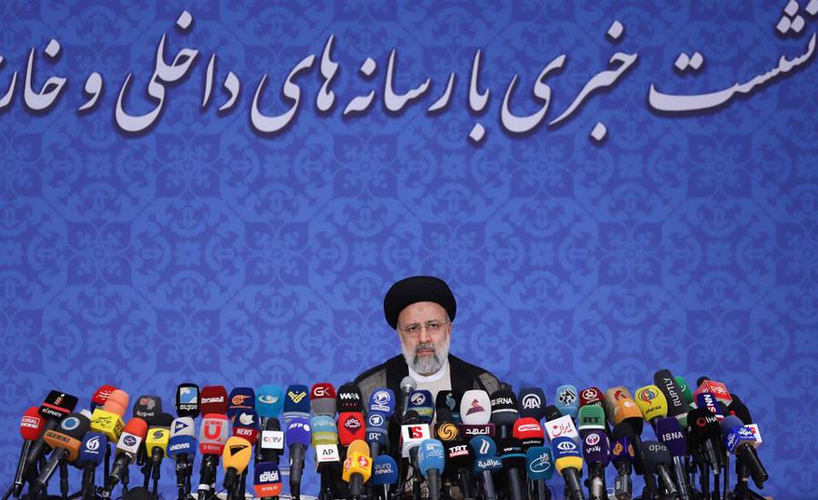 Iran's Raisi backs nuclear talks, rules out meeting Joe Biden