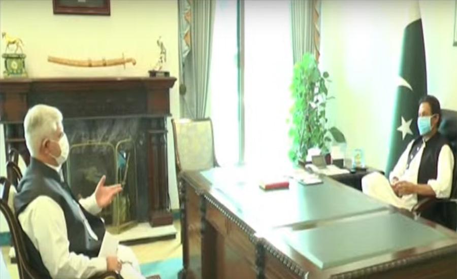 PM Imran Khan, KP CM Mahmood Khan discuss relief in budget