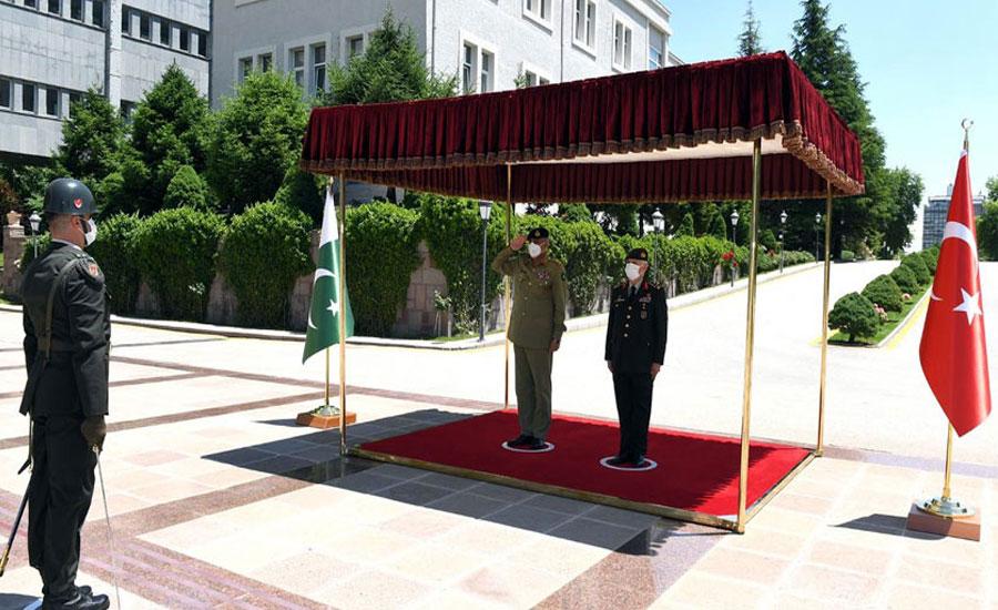 Turkey appreciates Pakistan's role for regional peace, stability