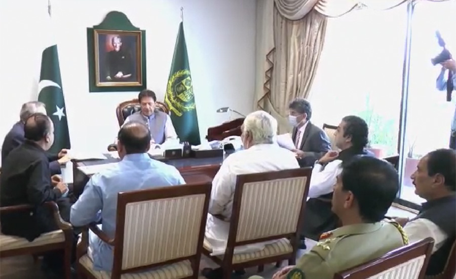 It's first govt striving to stop election rigging, says PM Imran Khan