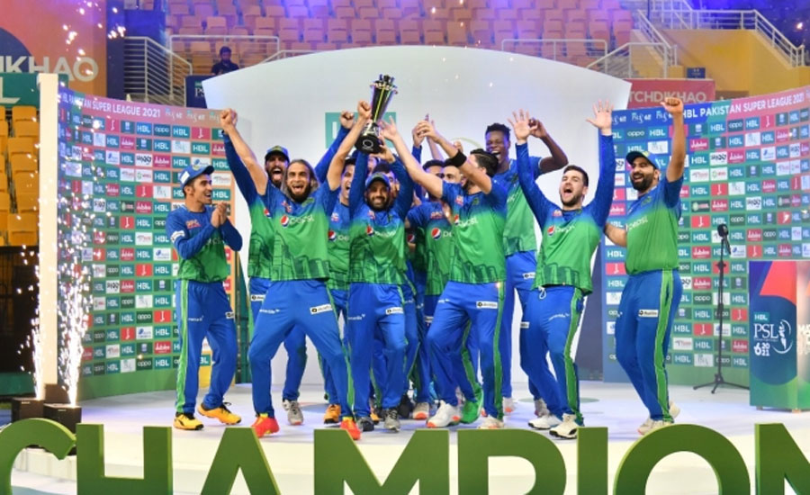 Multan Sultan wins maiden PSL title, beats Peshawar Zalmi in final
