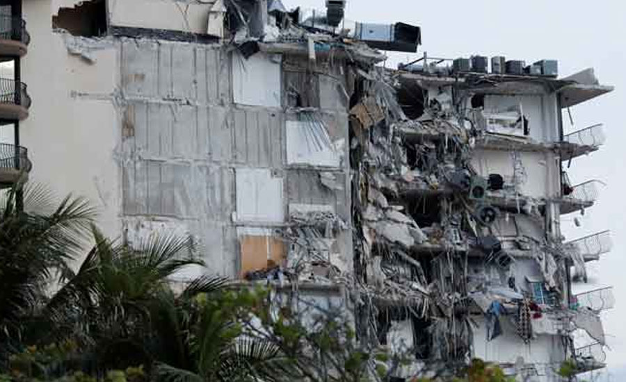 One dead, 51 unaccounted for in Florida building collapse: officials