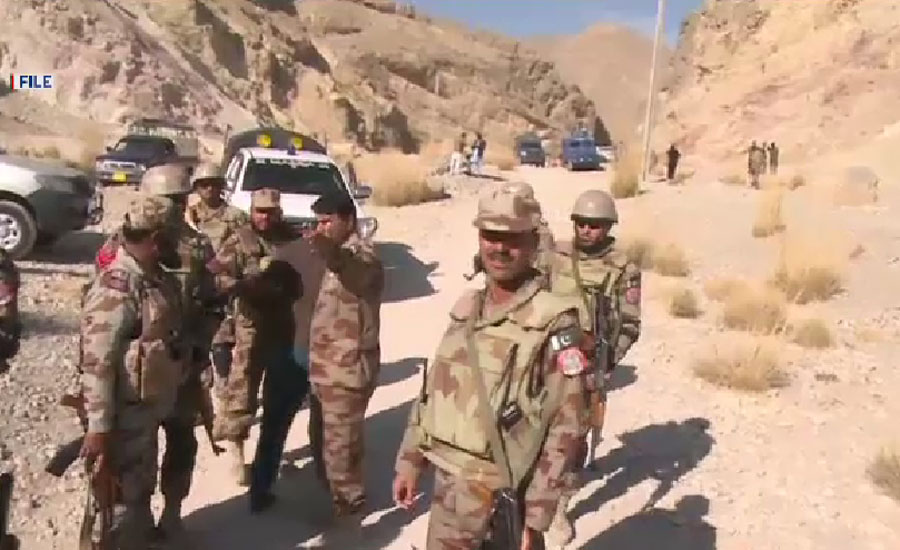 Five FC personnel martyred in terrorists attack in Sibi