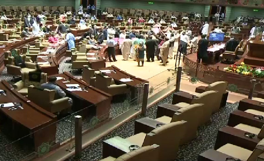 Sindh Assembly records new history as budget approved without Opp leader's speech