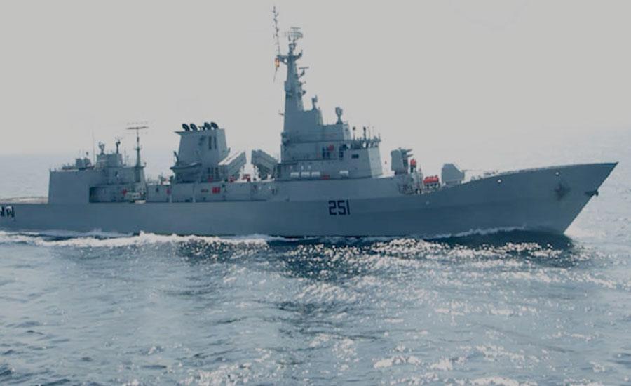PNS Zulfiqar visits Aqaba Port of Jordan